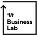 4H BusinessLab, logo.