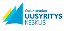 Oulun seudun uusyrityskeskus, logo.